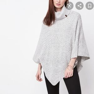 Canadian brand Roots soft knit cape/poncho